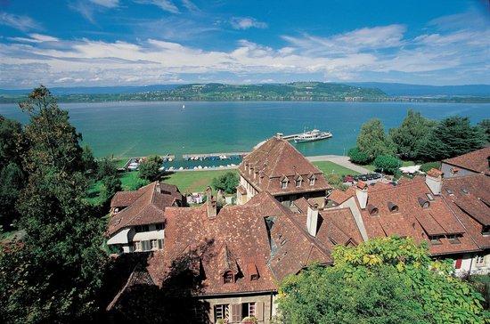 Murten, Switzerland: Stedtli von oben
