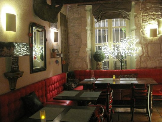 Restaurant Le QG : Interno