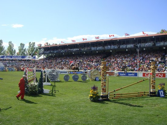 Crowds at Spruce Meadows