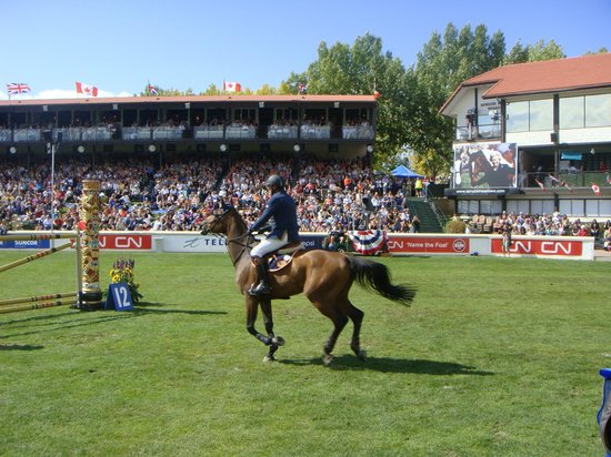 Spruce Meadows : Crowds enjoying the competition
