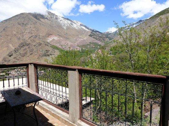 Kasbah Du Toubkal : Blick vom Balkon Ouka Nr. 2