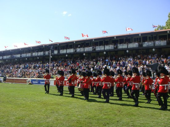 Spruce Meadows : Canadian Military Band
