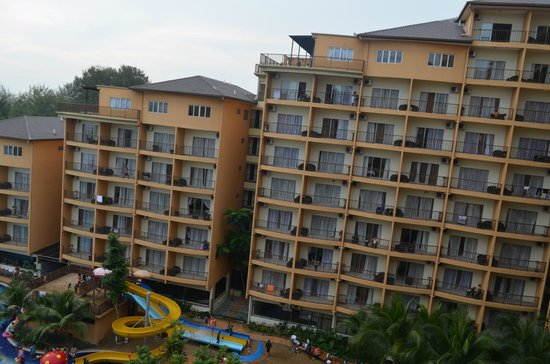 Gold Coast Morib International Resort: From the balcony