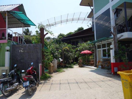 Phatchara Guest House: Eingangsbereich