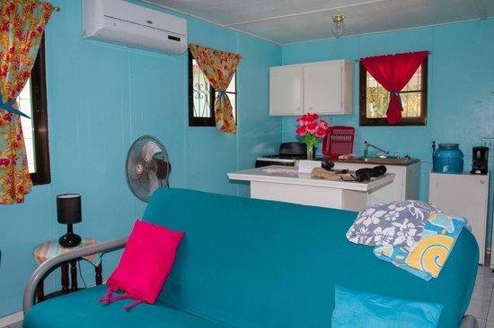 Barefoot Beach Belize : Küche im Cottage