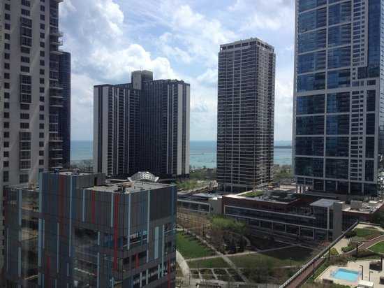 Swissotel Chicago : Nice view from the 15th Floor