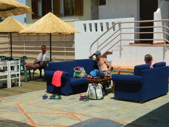 Sweet Memory Gourmet Apartments : around the pool