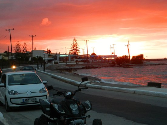 Sweet Memory Gourmet Apartments : lovely sunset