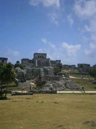 Maya-Ruinen von Tulum: The main ruin in Tulum