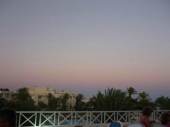 Tui Magic Life Africana : Вид из Тунисского ресторана