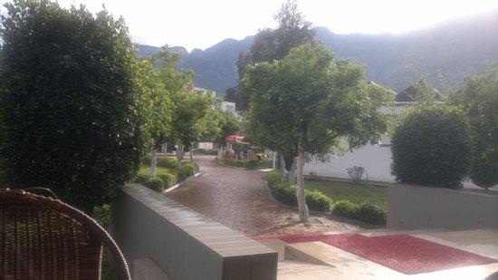 Batont Garden Resort Hotel: территория отеля...после дождя