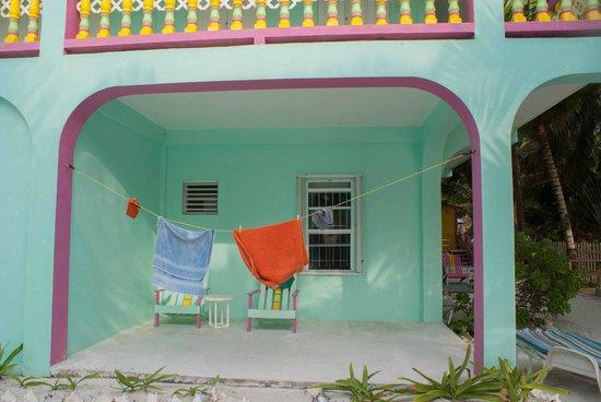 Barefoot Beach Belize: Terrasse