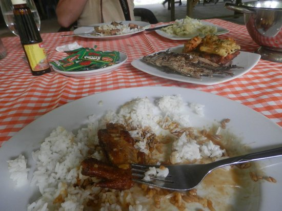 Tangkoko Dove Villas: The fabulous food!