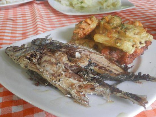 Tangkoko Dove Villas: The fabulous food!!!
