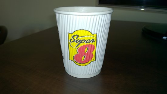 Super 8 Barrie: great cups!