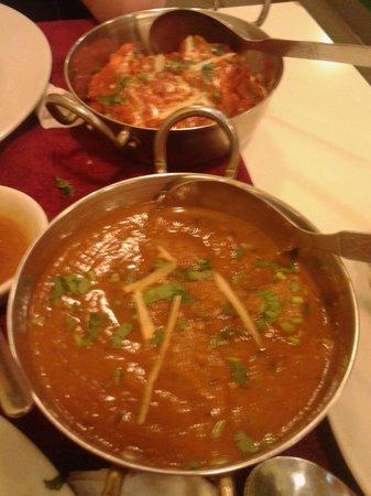 Swagatam Bar-Restaurant Hindu: pollo y cordero