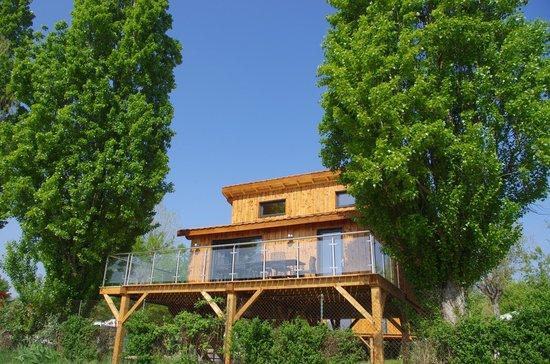 Trevoux, فرنسا: kanopée village chalet perché
