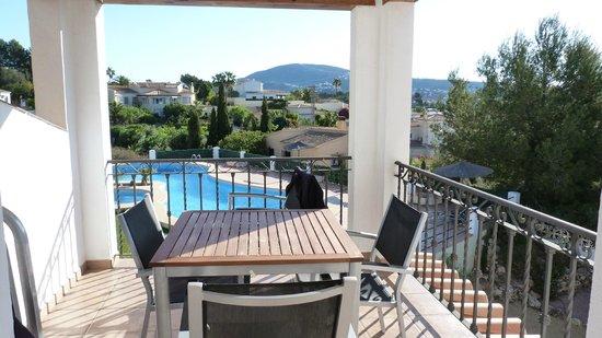 Apartments Benimeit : Vue de la terrasse
