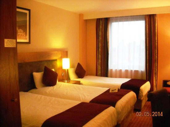 Maldron Hotel Parnell Square : comfortable beds