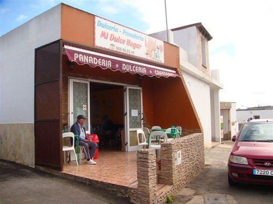 Mi Dulce Hogar: terraza panaderia