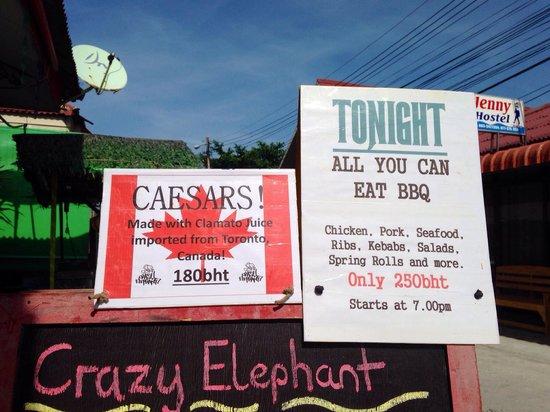 Crazy Elephant: Sunday BBQ