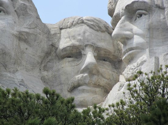 Mount Rushmore National Memorial : Theodore Roosevelt