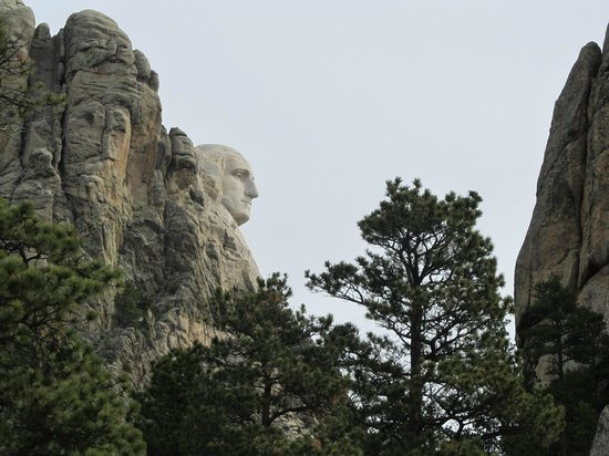Mount Rushmore National Memorial : Different view of our first President