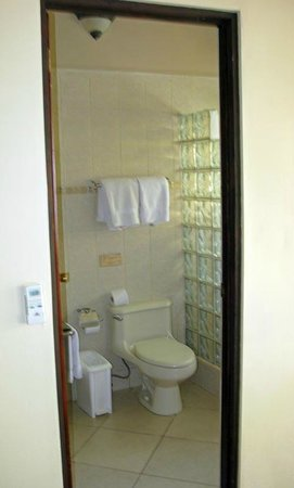 Bahia del Sol Beach Front Boutique Hotel: Bad mit Dusche
