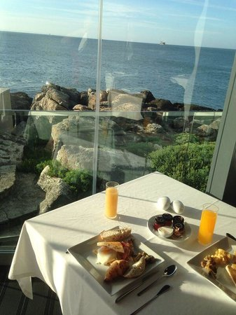 Farol Hotel : Breakfast view