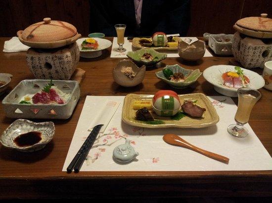 Oyado Hanabo: 食事