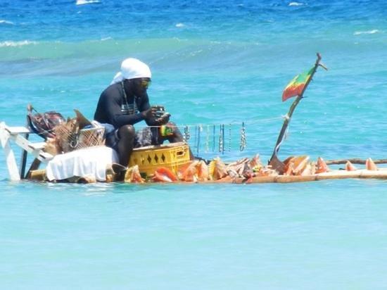 Luxury Bahia Principe Runaway Bay Don Pablo Collection: Jerrel notre Rasta Raft Man... Yah Mannnnn! ;-)
