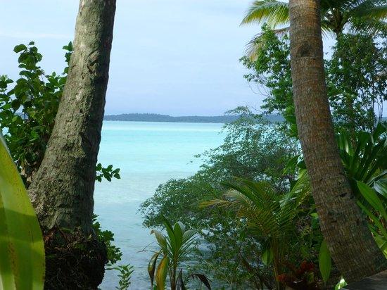 Nabucco Island Resort: Traumhafte Aussicht auf die Lagune bei Flut