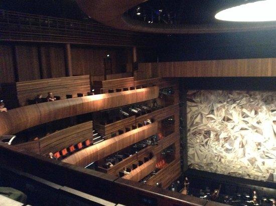 The Norwegian National Opera & Ballet: Interior Opera House
