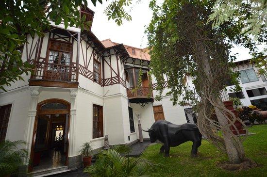 Second Home Peru: Der Eingangsbereich