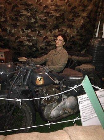 Jersey War Tunnels - German Underground Hospital: inside war tunnels