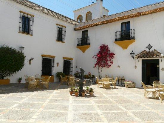 Hacienda El Santiscal: Vue de l'intérieur de l'Hacienda
