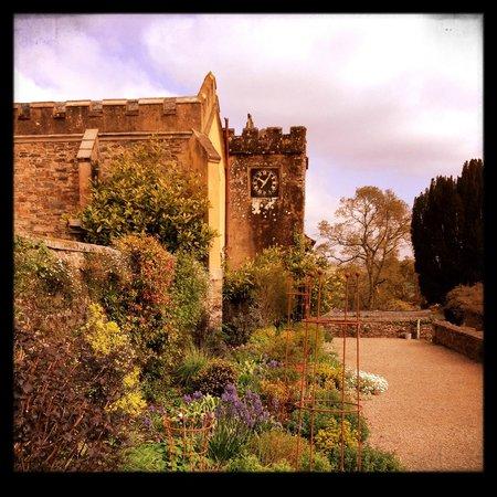 Pentillie Castle: divine mixed borders