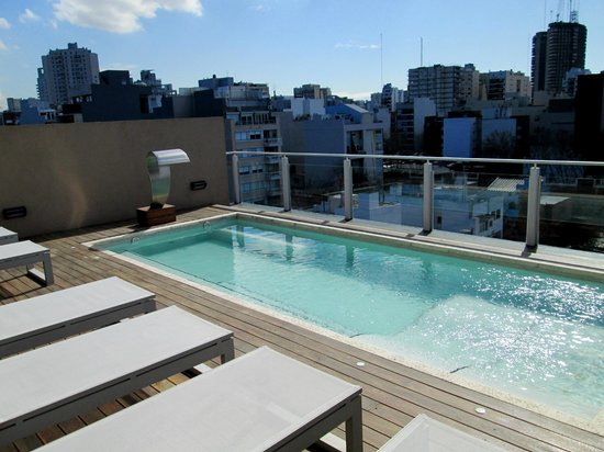 Piscina Terraza Picture Of Fierro Hotel Buenos Aires