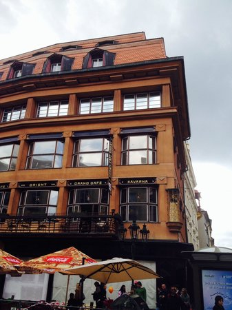 World War II in Prague Tour: House of the black Madonna (hideout of resistance movement)