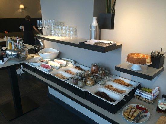 Hotel OTTO: Frühstücksbuffet