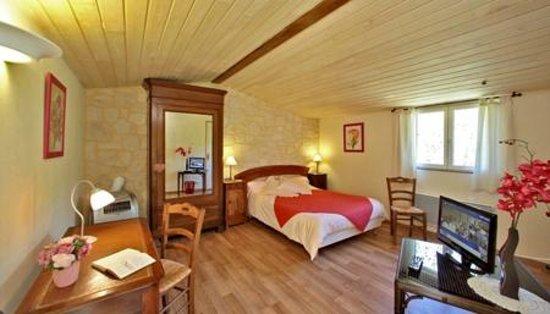 Auberge de Castel Merle: chambre