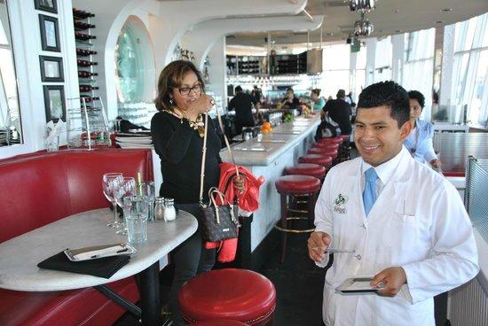 Franciscan Crab Restaurant : Server