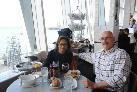 Franciscan Crab Restaurant : Dining