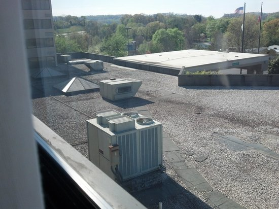 Holiday Inn Johnson City : Room with a view