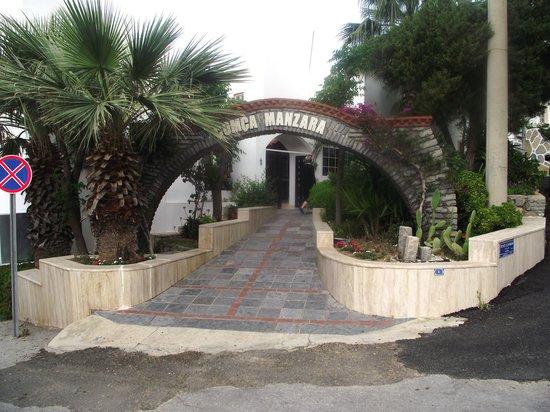 Hotel Comca Manzara: l'entrée de l'hôtel