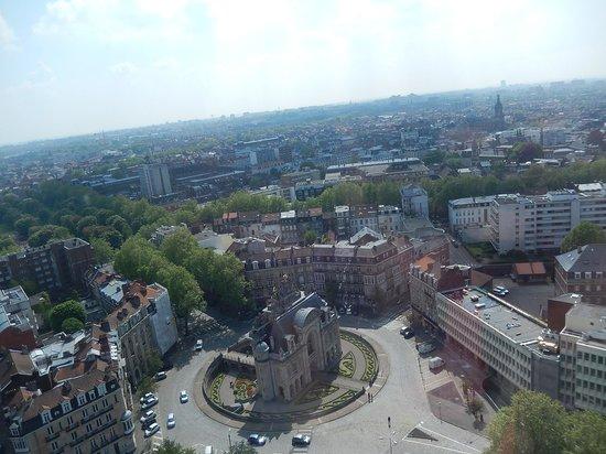 Beffroi de l'Hôtel : beffroi lille - panorama 1