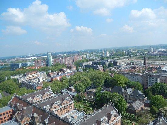 Beffroi de l'Hôtel : beffroi lille - panorama 3