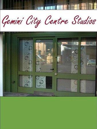 Gemini Studios: check-in office