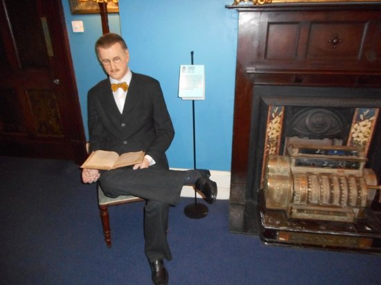 The National Wax Museum Plus : James Joyce