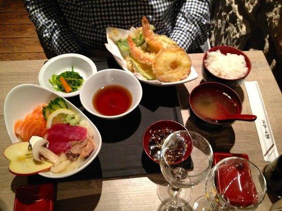 Naka : tempura e salsine